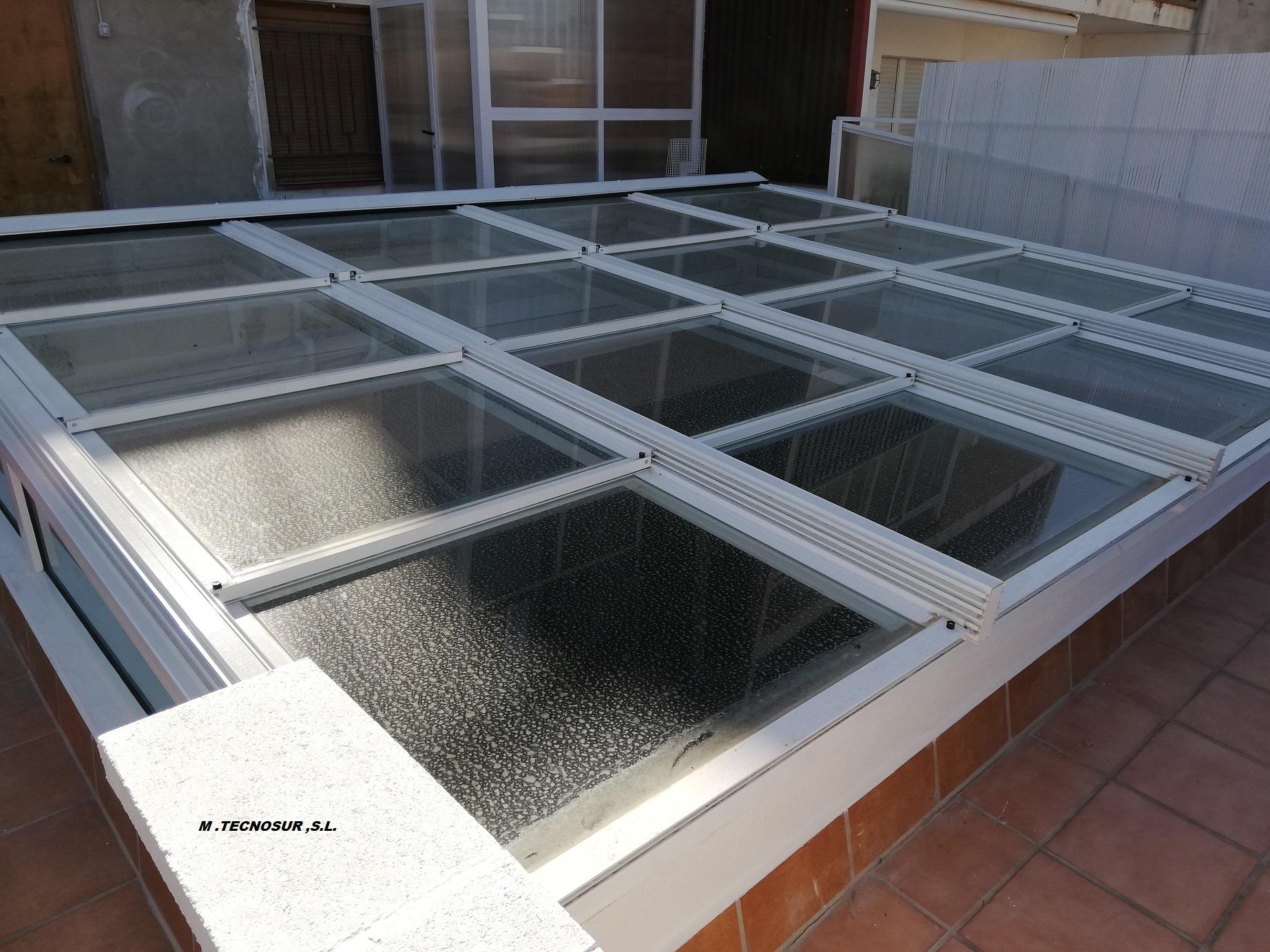 Cerramiento de Terrazas en Tarragona - Modelo Kristal